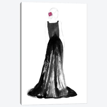 Black Dress I Canvas Print #WIG121} by Alicia Ludwig Canvas Art Print