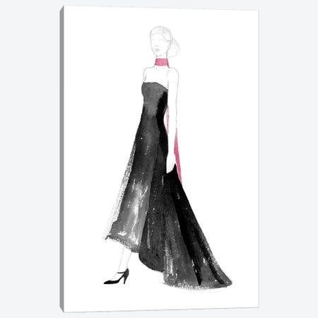 Black Dress II Canvas Print #WIG122} by Alicia Ludwig Canvas Art Print