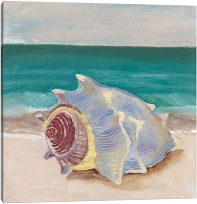 She Sells Seashells I Canvas Art Print