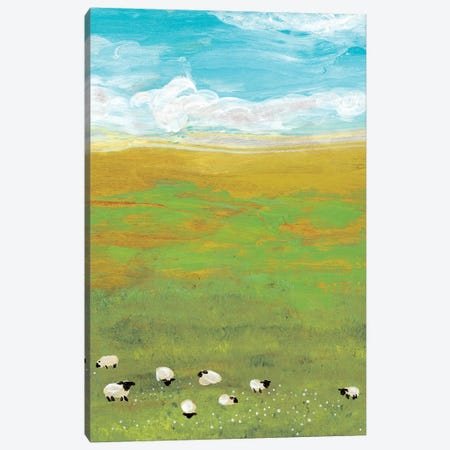 Herd I Canvas Print #WIG13} by Alicia Ludwig Art Print