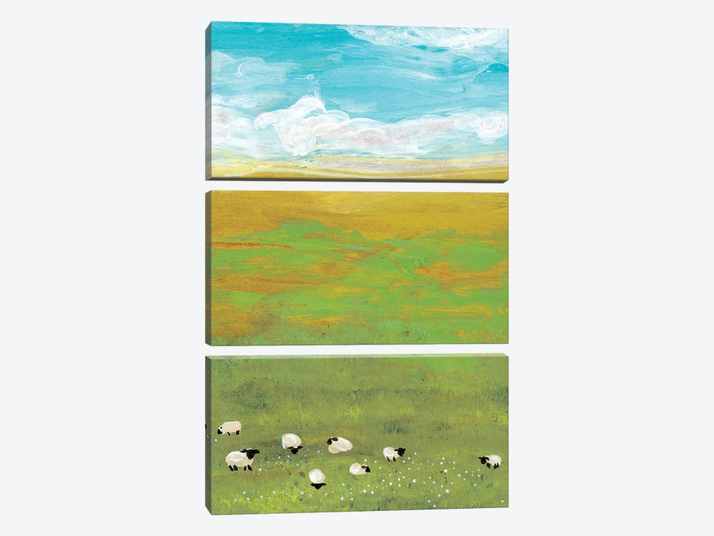 Herd I by Alicia Ludwig 3-piece Canvas Wall Art