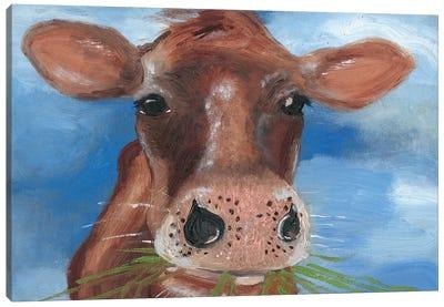 Morning Chew I Canvas Art Print