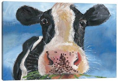Morning Chew II Canvas Art Print
