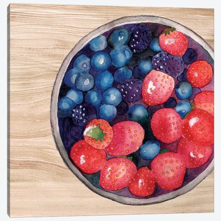 Bowls of Fruit III Canvas Print #WIG155} by Alicia Ludwig Canvas Art Print