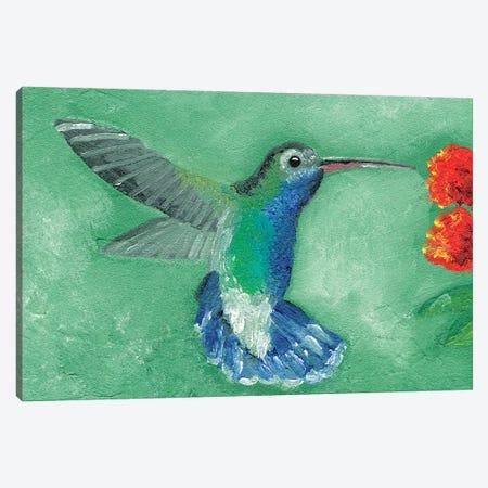 Fresco Hummingbird I Canvas Print #WIG157} by Alicia Ludwig Canvas Art Print