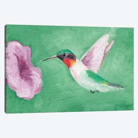 Fresco Hummingbird II 3-Piece Canvas #WIG158} by Alicia Ludwig Canvas Wall Art