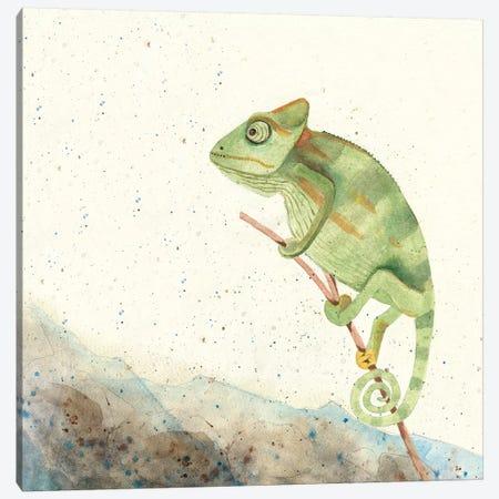 Reptillian IV Canvas Print #WIG161} by Alicia Ludwig Art Print