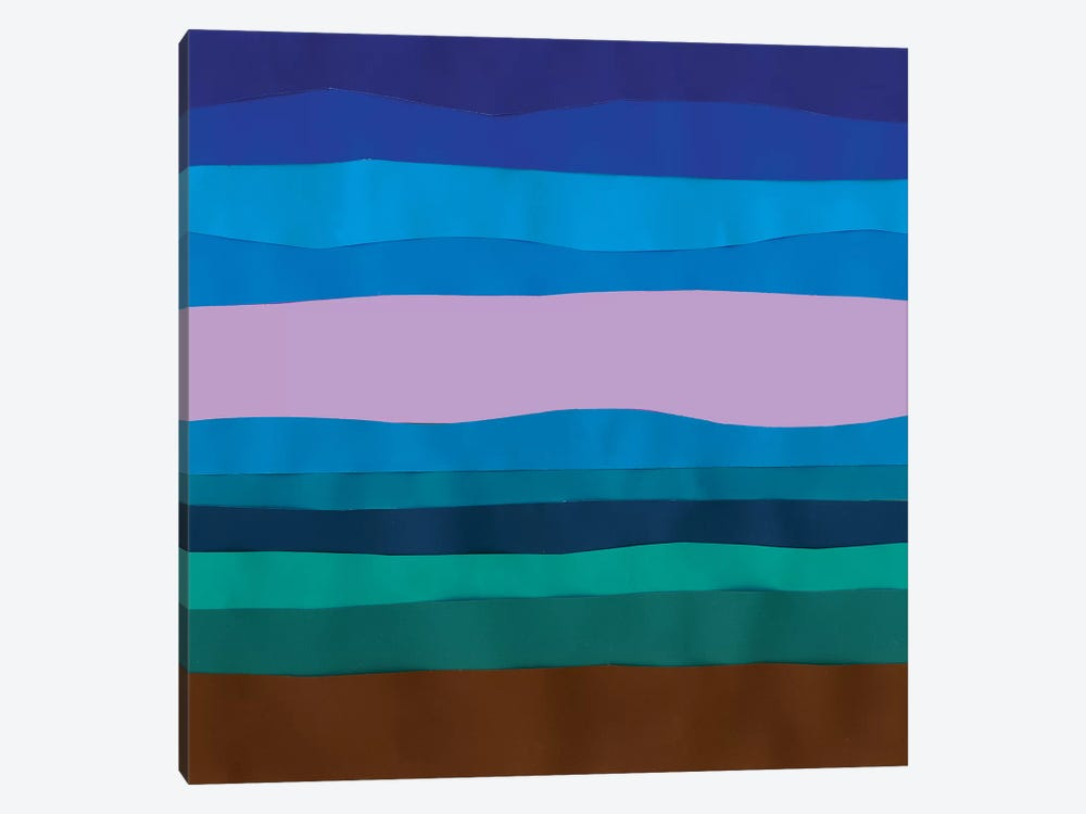 Blue Ridge Abstract I by Alicia Ludwig 1-piece Canvas Art