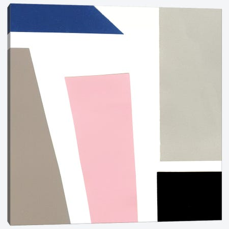 Color Blocks III Canvas Print #WIG168} by Alicia Ludwig Canvas Art Print