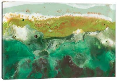 Emerald Atoll I Canvas Art Print