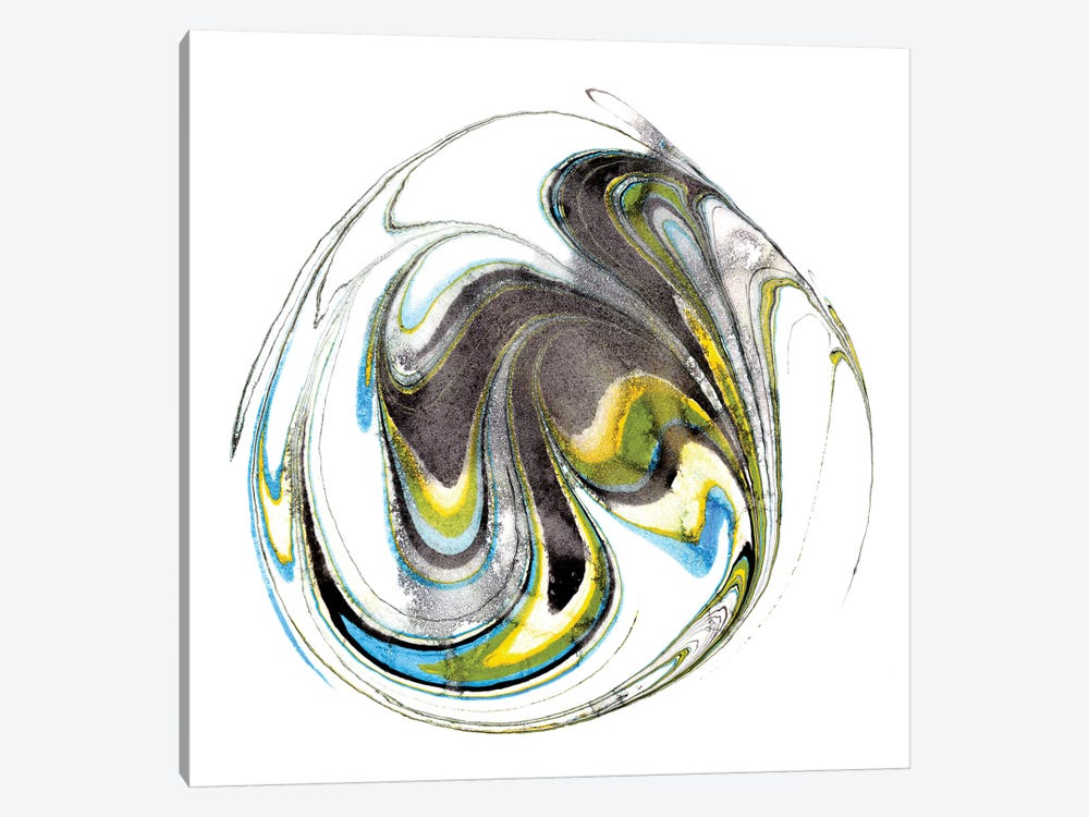Citrine Momentum II by Alicia Ludwig 1-piece Canvas Print