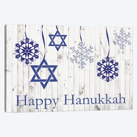 Punny Hanukkah Collection A Canvas Print #WIG190} by Alicia Ludwig Canvas Artwork