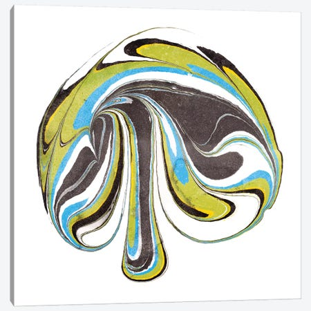 Citrine Momentum III Canvas Print #WIG19} by Alicia Ludwig Art Print