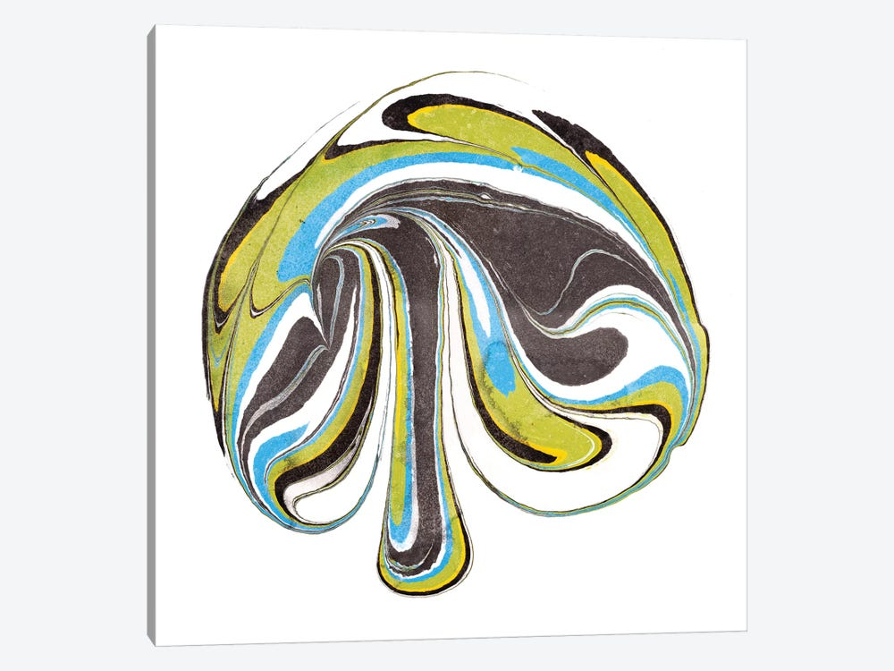 Citrine Momentum III by Alicia Ludwig 1-piece Canvas Wall Art