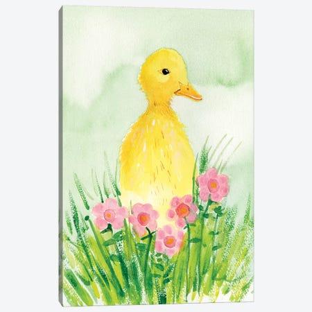 Baby Spring Animals III Canvas Print #WIG200} by Alicia Ludwig Canvas Wall Art