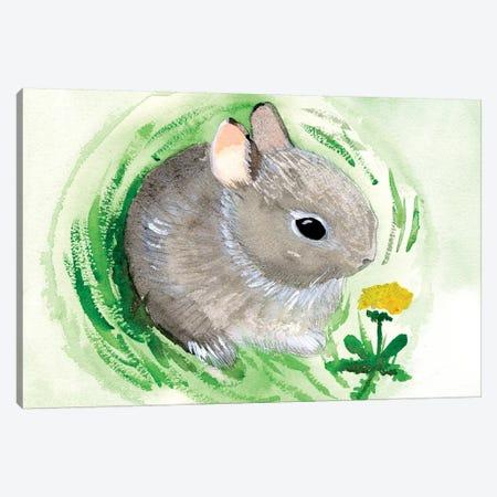 Baby Spring Animals VI Canvas Print #WIG203} by Alicia Ludwig Canvas Artwork