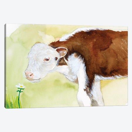 Baby Spring Animals VII Canvas Print #WIG204} by Alicia Ludwig Canvas Print