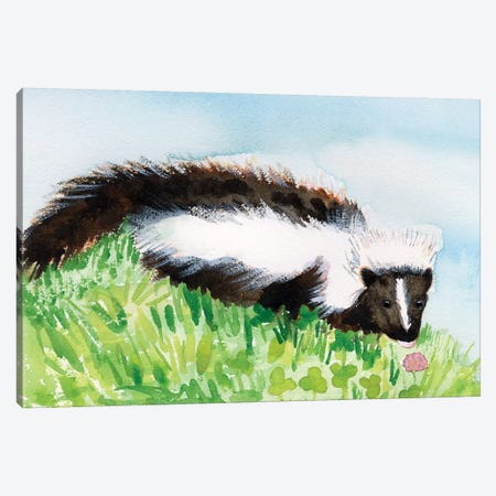 Baby Spring Animals VIII Canvas Print #WIG205} by Alicia Ludwig Art Print
