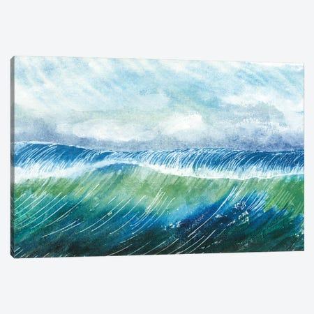 Big Surf II Canvas Print #WIG222} by Alicia Ludwig Canvas Artwork