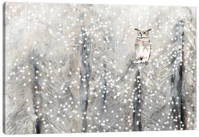 Snowy Habitat I Canvas Art Print