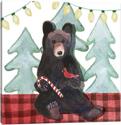 A Very Beary Christmas I Canvas Art Print