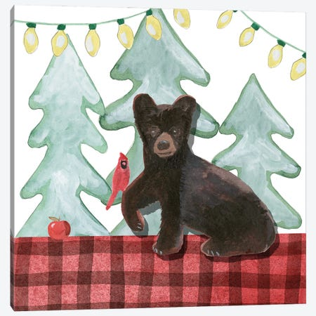 A Very Beary Christmas II 3-Piece Canvas #WIG232} by Alicia Ludwig Canvas Art Print