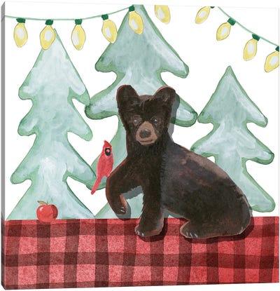 A Very Beary Christmas II Canvas Art Print