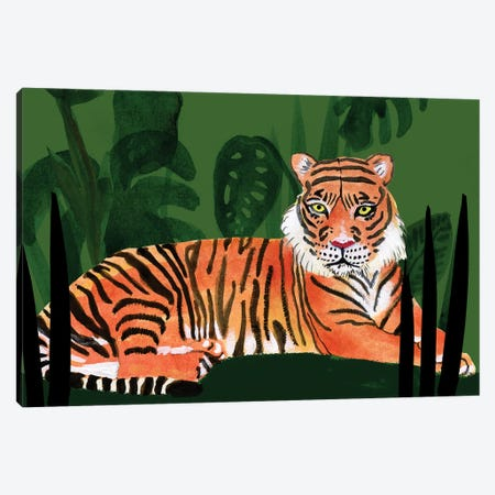 Tiger Tiger I Canvas Print #WIG233} by Alicia Ludwig Canvas Art Print