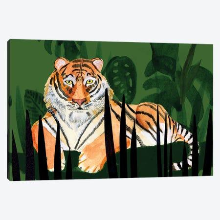 Tiger Tiger II Canvas Print #WIG234} by Alicia Ludwig Canvas Artwork