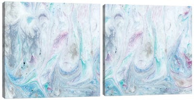 Marble Diptych Canvas Art Print