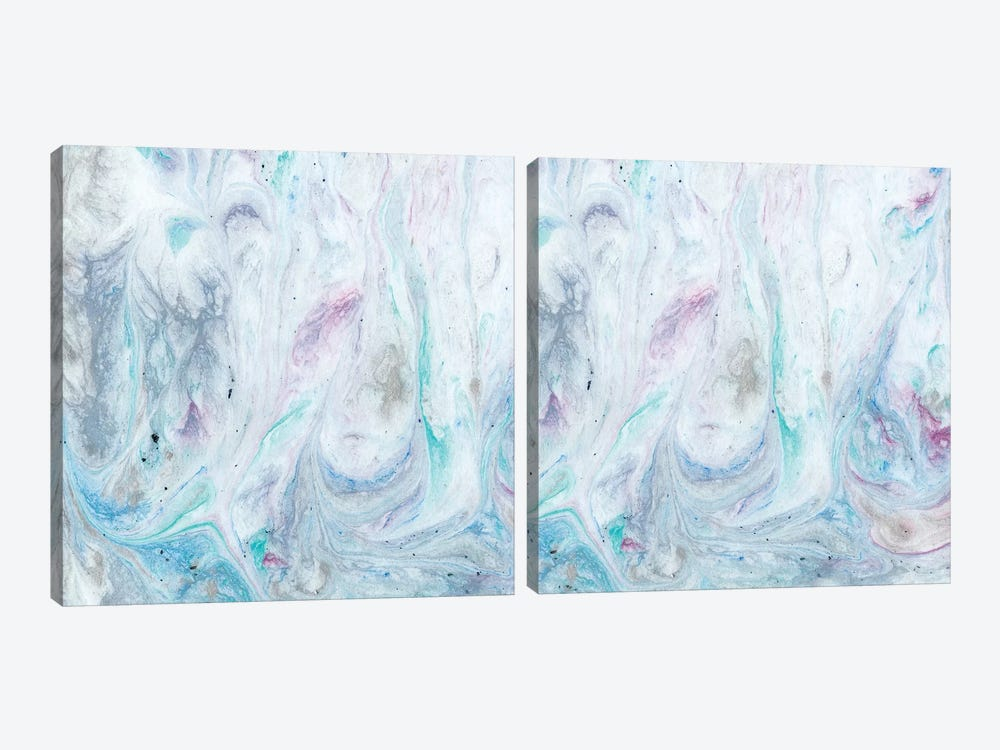 Marble Diptych by Alicia Ludwig 2-piece Canvas Art Print