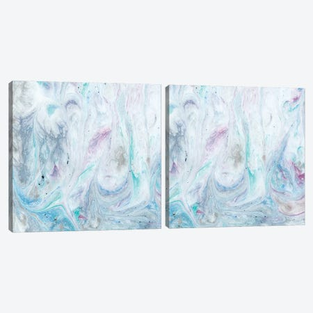 Marble Diptych Canvas Print Set #WIG2HSET001} by Alicia Ludwig Canvas Artwork