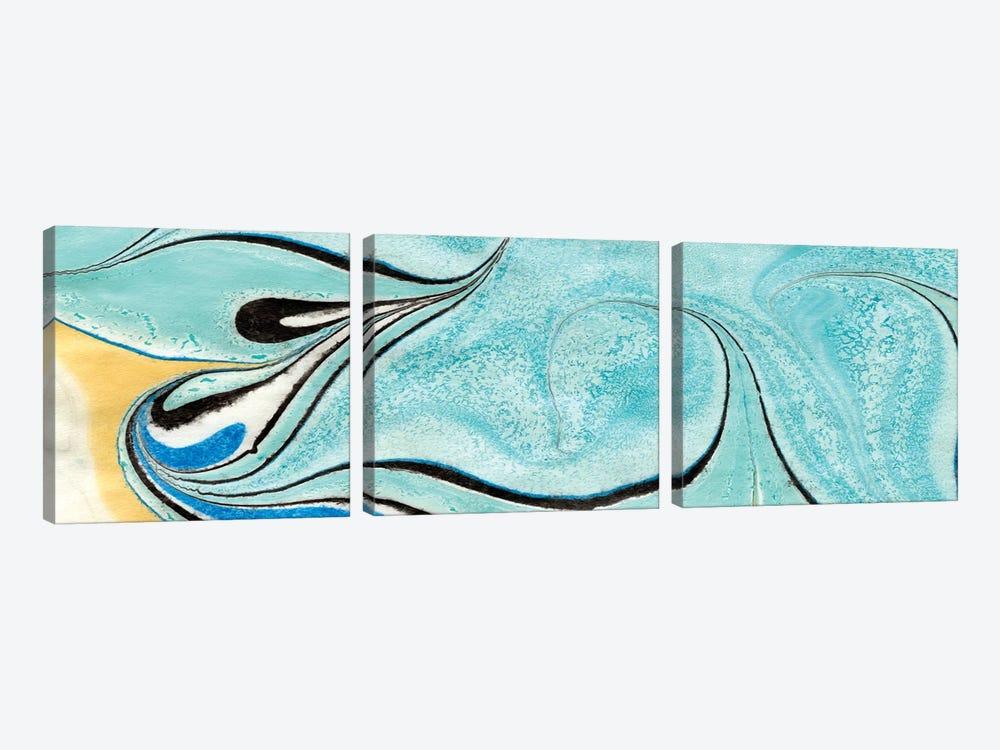 Placid III by Alicia Ludwig 3-piece Canvas Artwork