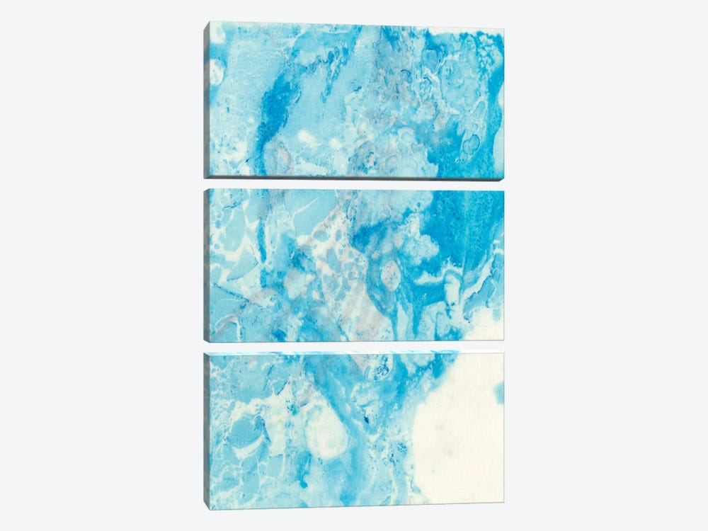 Seeing Blue II by Alicia Ludwig 3-piece Canvas Artwork