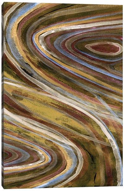 Mineral Overlay I Canvas Art Print