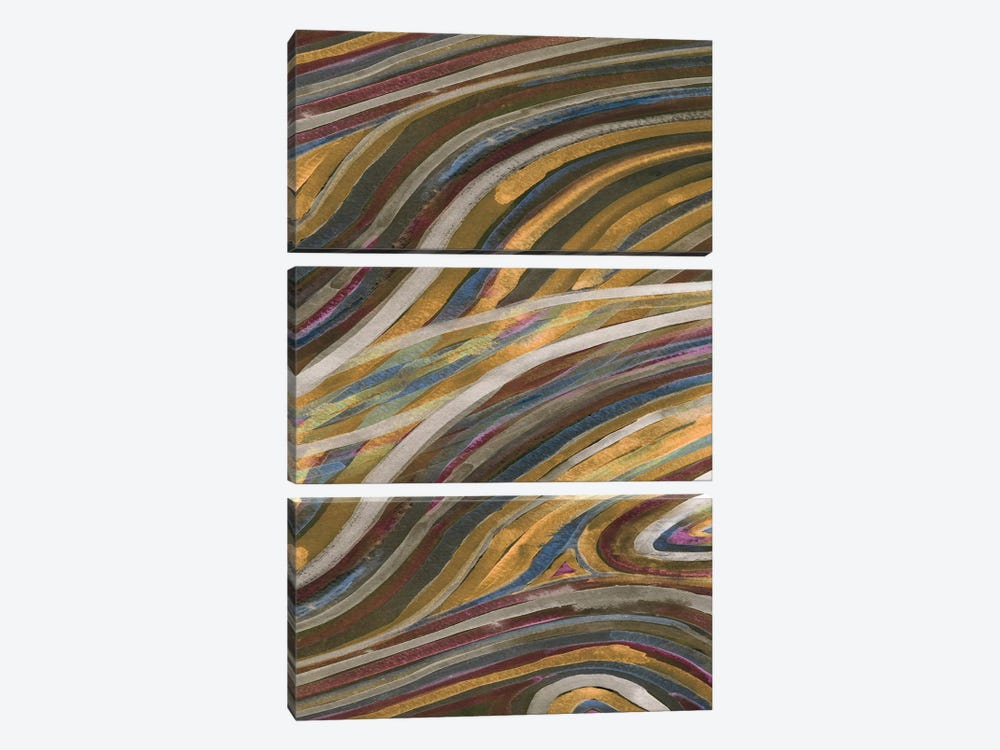 Mineral Overlay II by Alicia Ludwig 3-piece Canvas Art Print