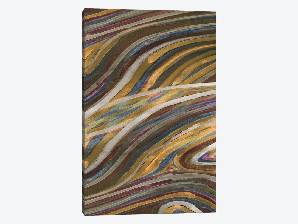 Mineral Overlay II by Alicia Ludwig 1-piece Canvas Print