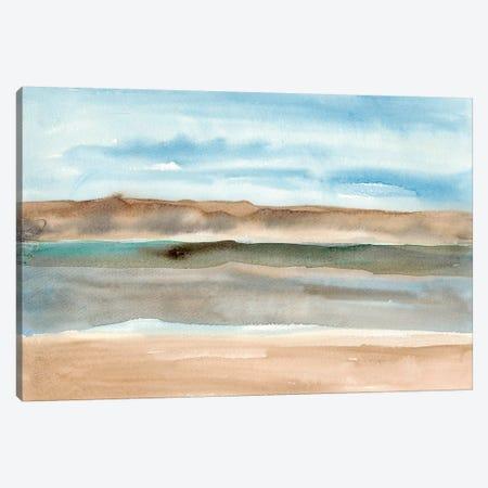 Plein Air Riverscape I Canvas Print #WIG44} by Alicia Ludwig Canvas Art Print