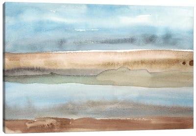 Plein Air Riverscape II Canvas Art Print