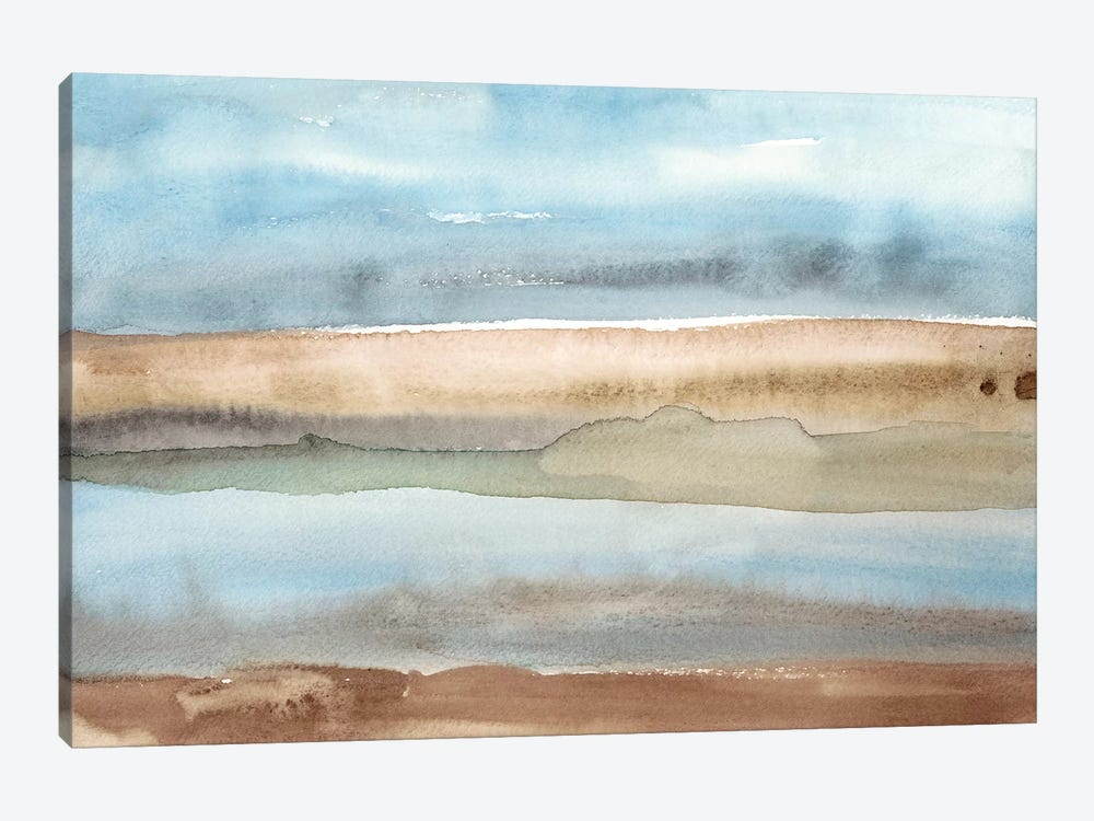 Plein Air Riverscape II by Alicia Ludwig 1-piece Canvas Print