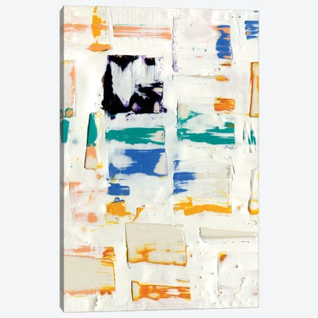 Basket Weave I Canvas Print #WIG54} by Alicia Ludwig Canvas Artwork
