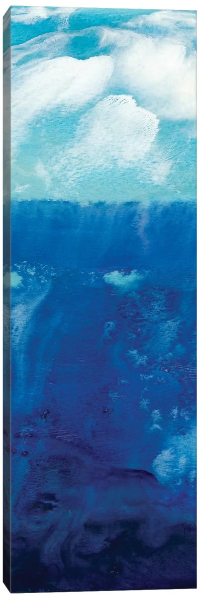 Deep Blue I Canvas Art Print