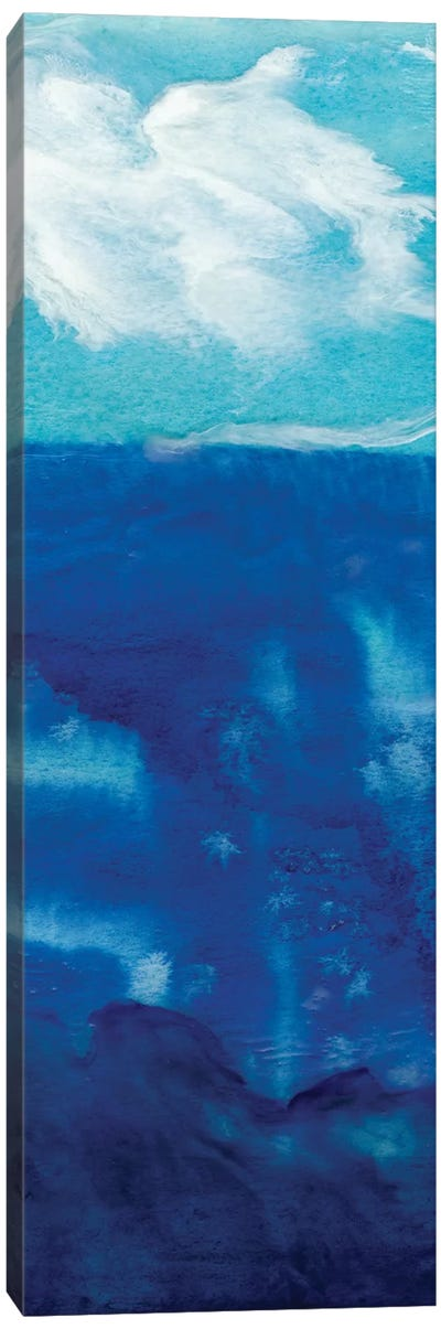 Deep Blue II Canvas Art Print