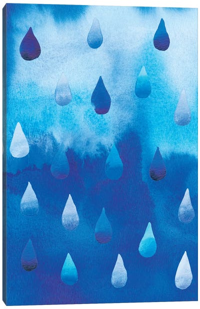 Drip Drop I Canvas Art Print