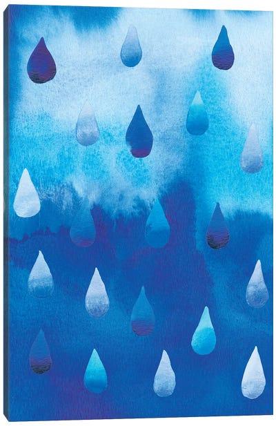 Drip Drop I Canvas Art Print