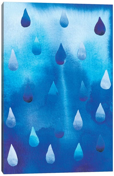 Drip Drop II Canvas Art Print
