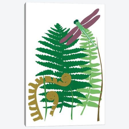 Fern Fantasy Garden II Canvas Print #WIG61} by Alicia Ludwig Canvas Wall Art