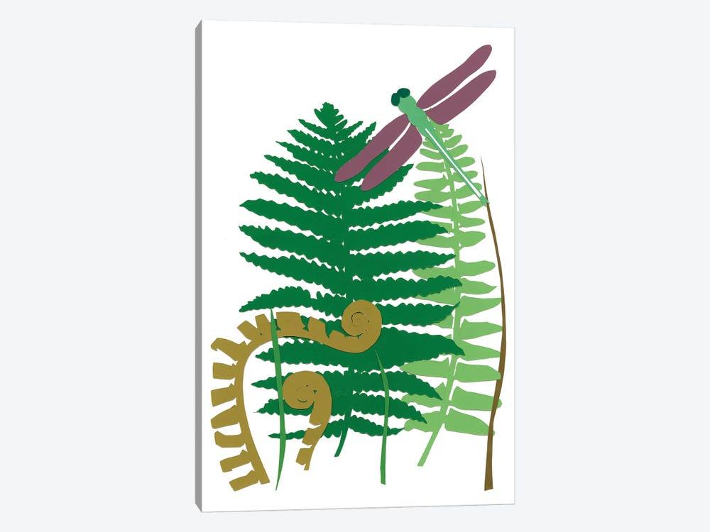 Fern Fantasy Garden II by Alicia Ludwig 1-piece Canvas Print