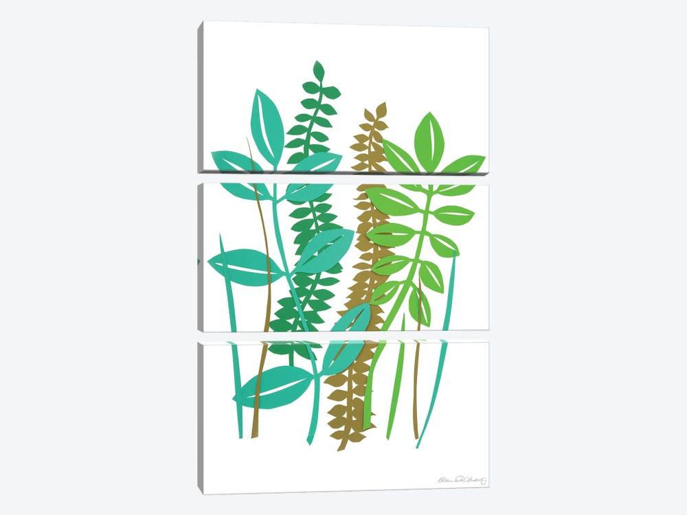 Hedge Row II by Alicia Ludwig 3-piece Art Print