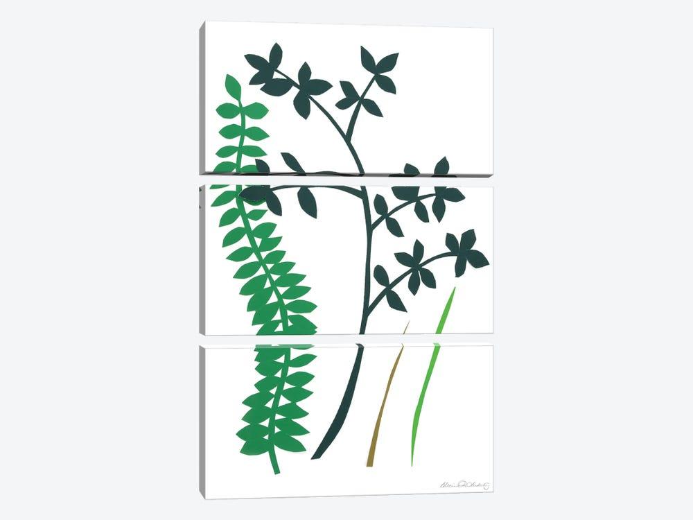 Hedge Row IV by Alicia Ludwig 3-piece Art Print